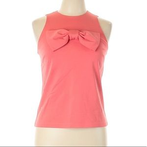 NWOT Kate Spade Bow Coral Top Adorable Size 4 M